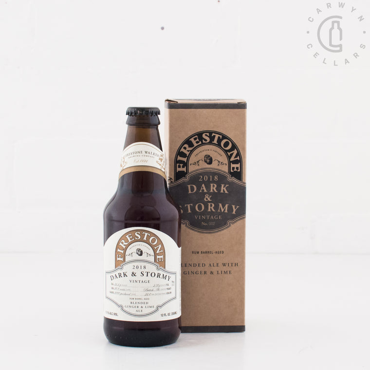 Firestone Walker Dark and Stormy 2018