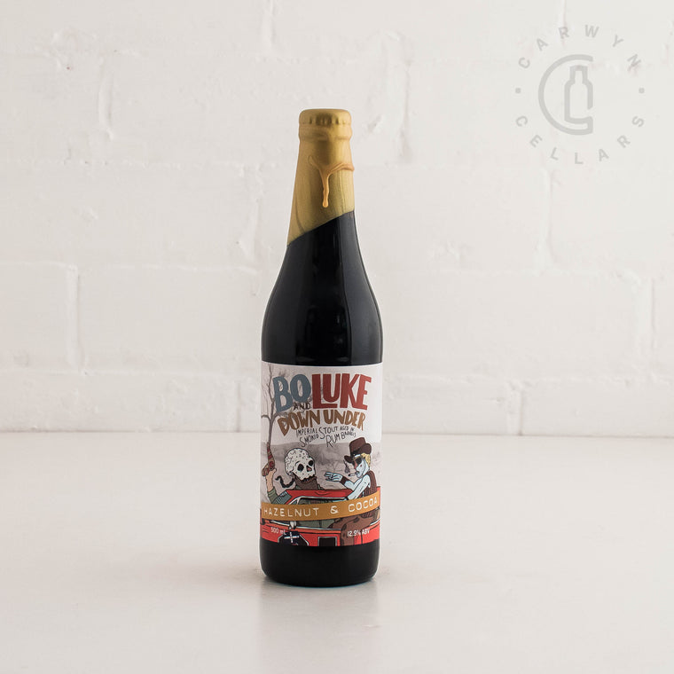 Against the Grain + Hawkers Bo & Luke Down Under Hazelnut and Cocoa 500ml