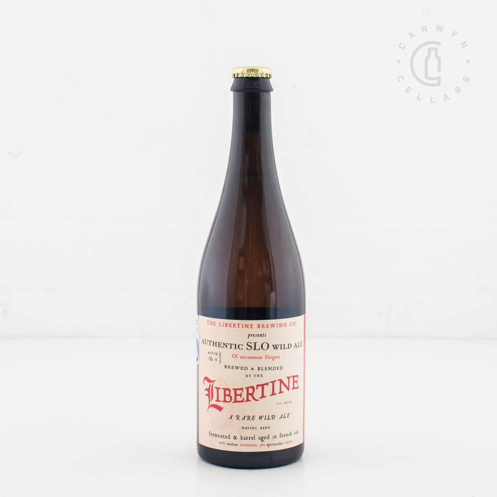 Libertine Authentic SLO Wild Ale Batch 4
