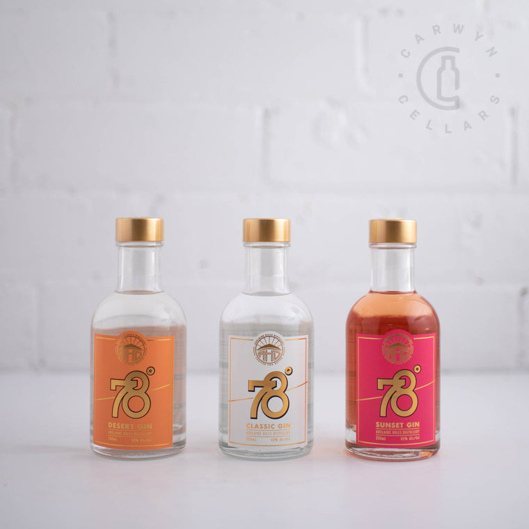 Adelaide Hills Distillery-78 Degrees Gift Pack