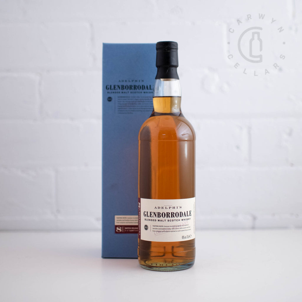 Adelphi Glenborrodale 8YO Batch 6 700ml