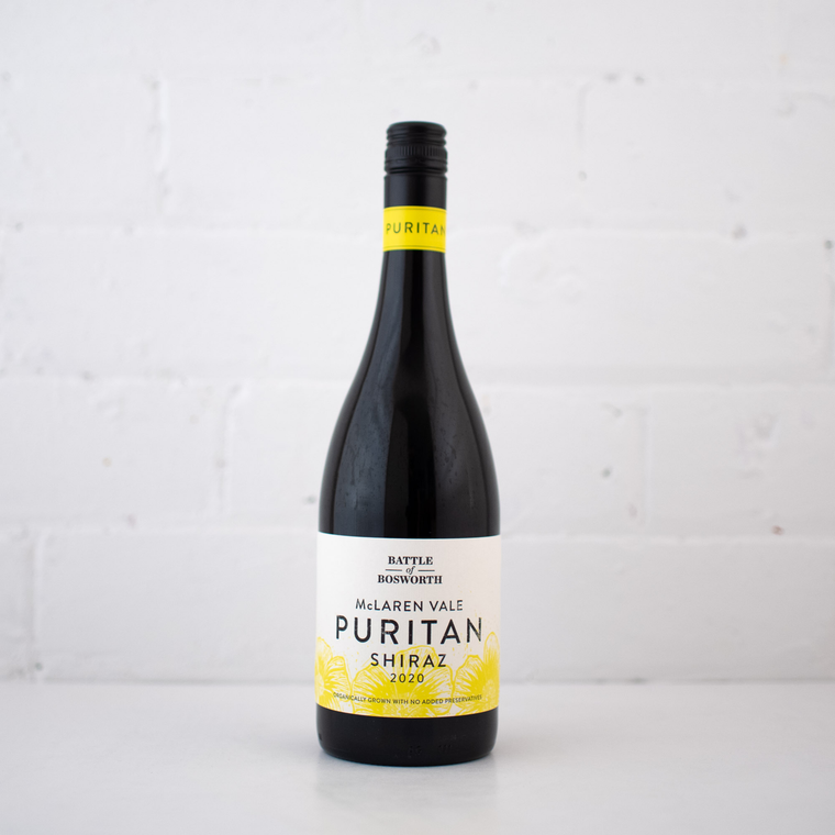 Battle Of Bosworth-Puritan Shiraz 2020