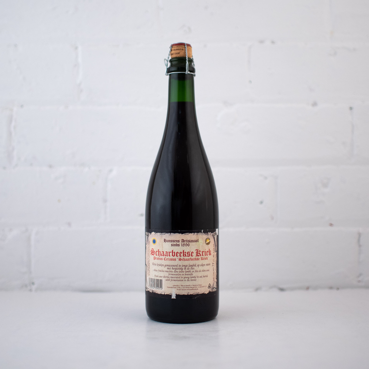 Hanssens Schaarbeekse Kriek Bottle 750ml