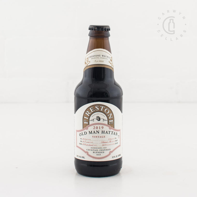 Firestone Walker Old Man Hattan 2019