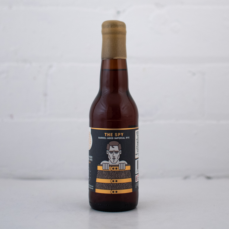 Co Conspirators The Spy Carwyn Collaboration Barrel Aged Imperial Rye Bottle 330ml