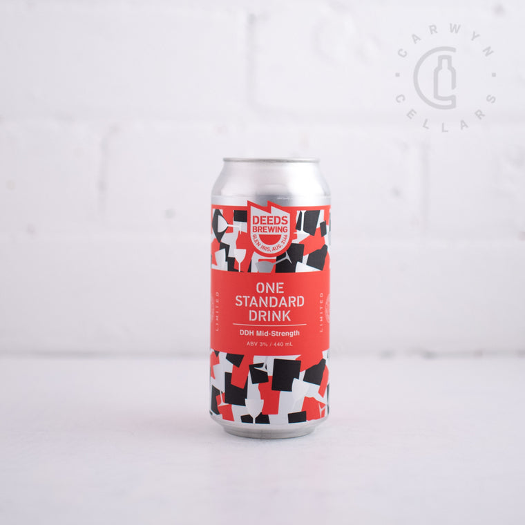 Deeds One Standard Drink DDH Mid Strength