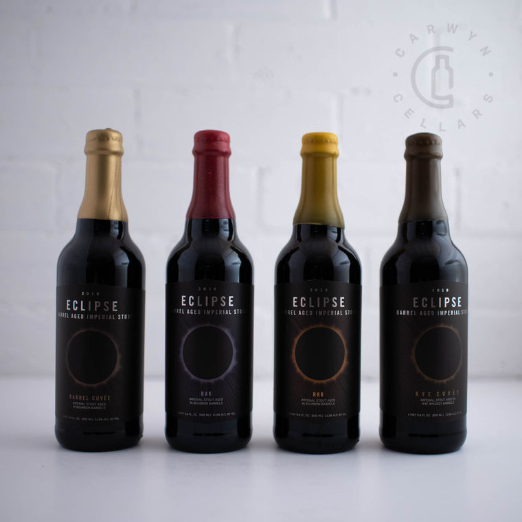 Fifty Fifty Eclipse Barrel Aged Imperial Stout Rye Cuvee Bottle 500ml