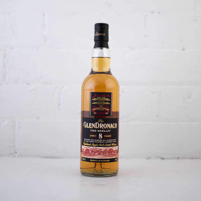 Glendronach 8YO The Hielan 700ML