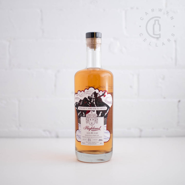 Creative Whisky Co Highland 8YO 700ml