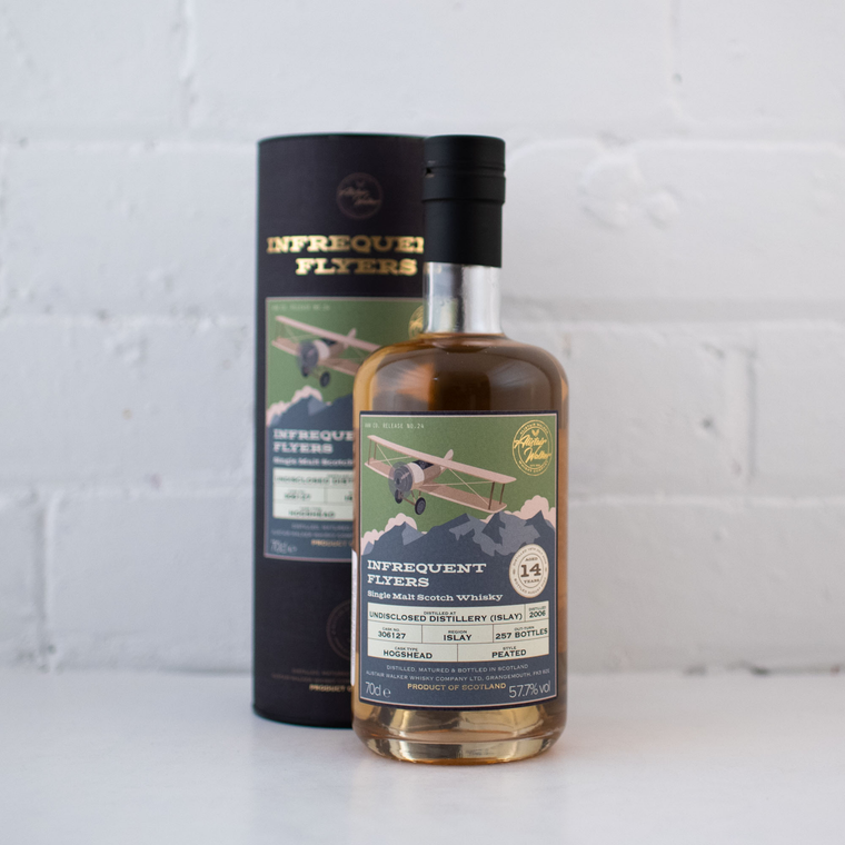 Infrequent Flyers #24 Undisclosed Islay 2006 14YO 700ml