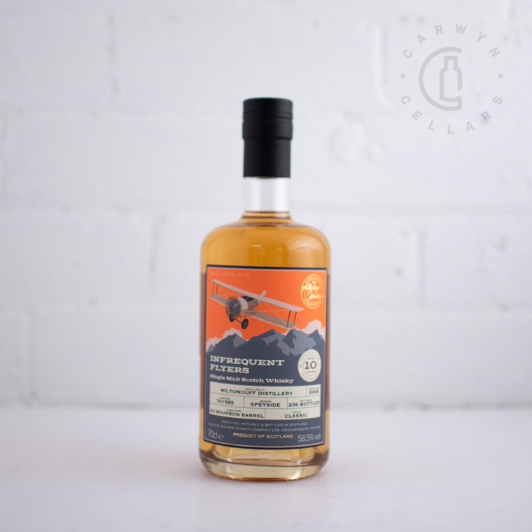 Infrequent Flyers #22 Miltonduff 2009 10YO 700ml