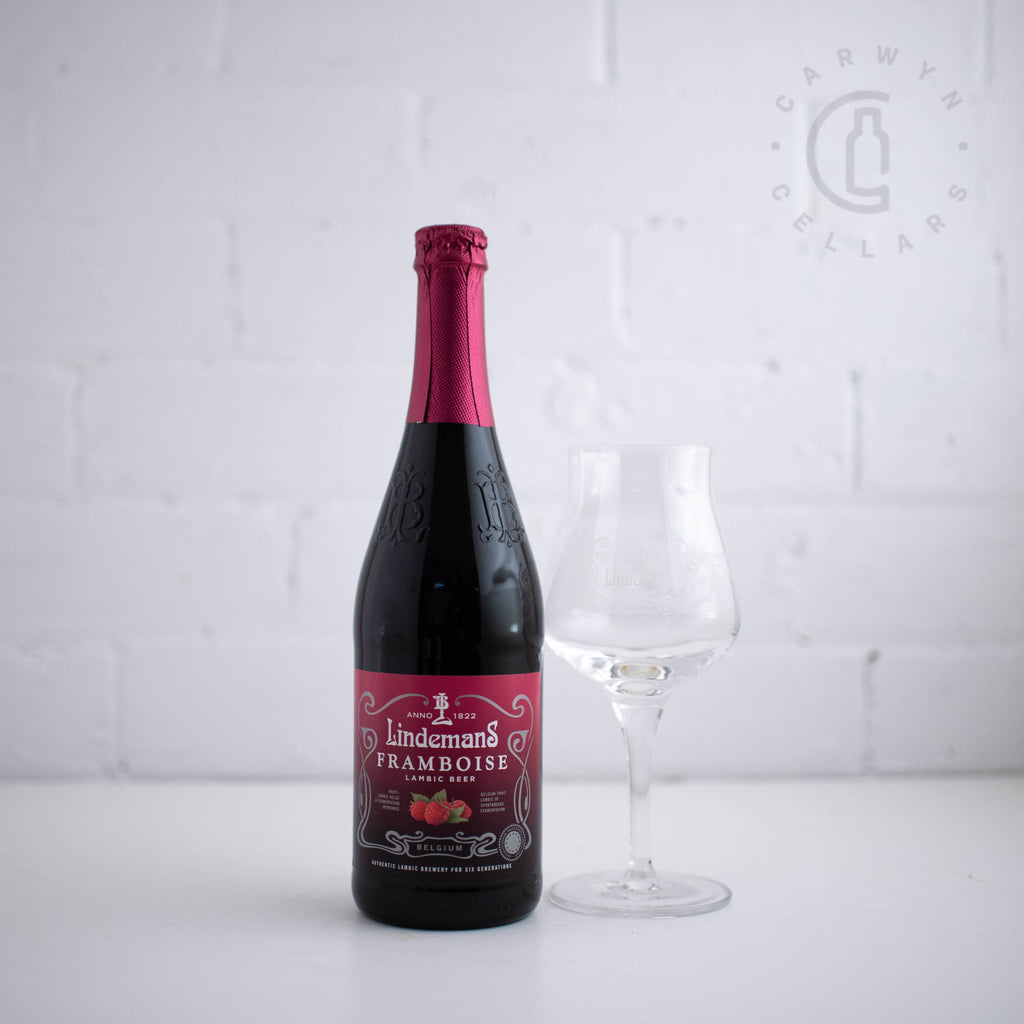 Lindemans Framboise & Glass