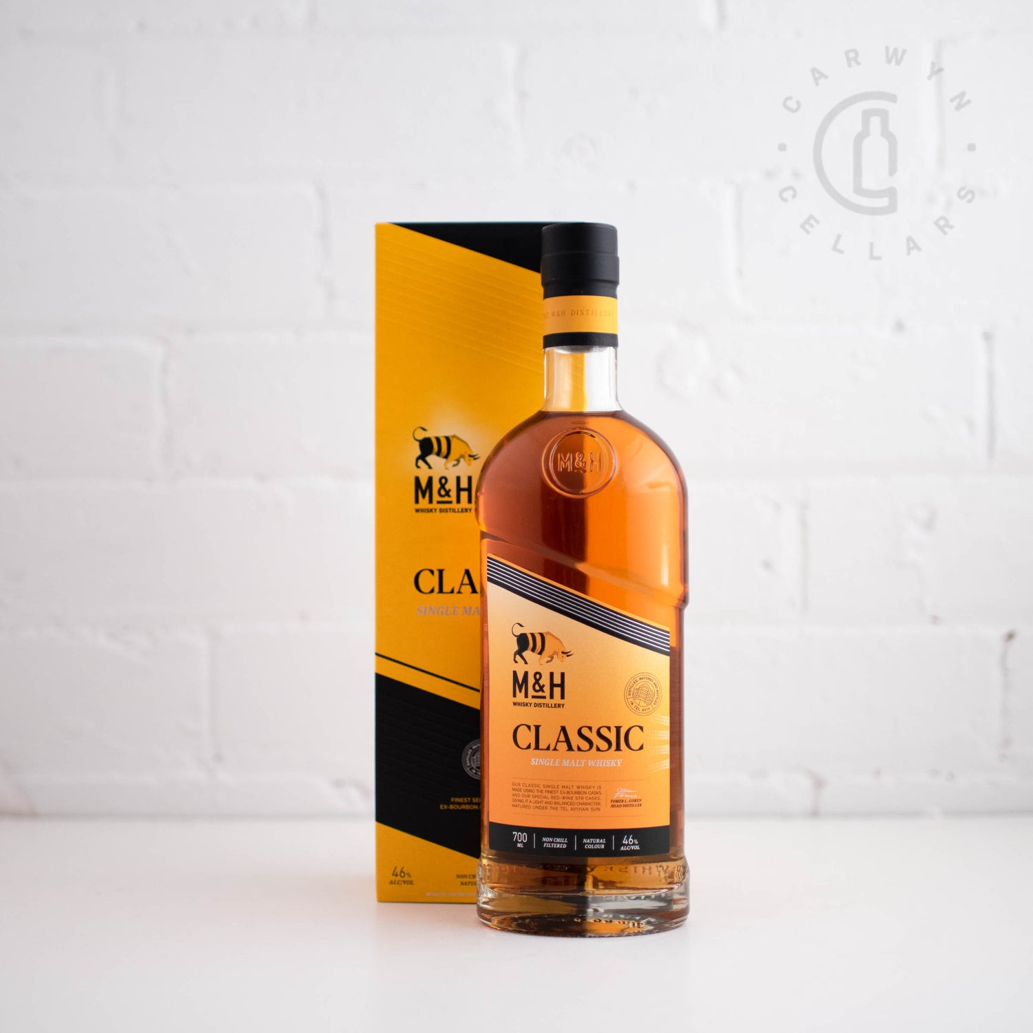 Milk & Honey Classic Single Malt Israeli Whisky 700ml