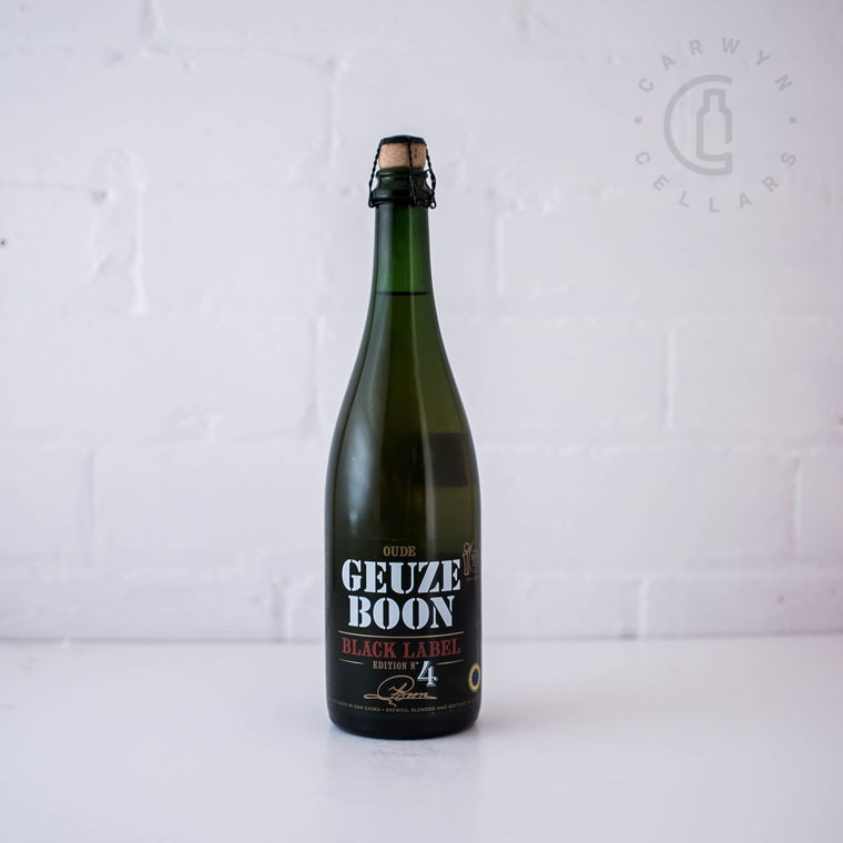Boon Black Label Geuze No.4 750mL