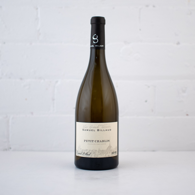 Samuel Billaud  Petit Chablis 2018 750ml