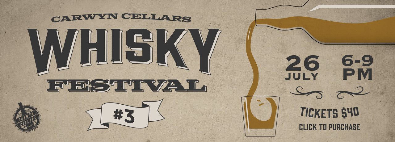 Click for tickets to Carwyn Cellars Whisky Festival 3