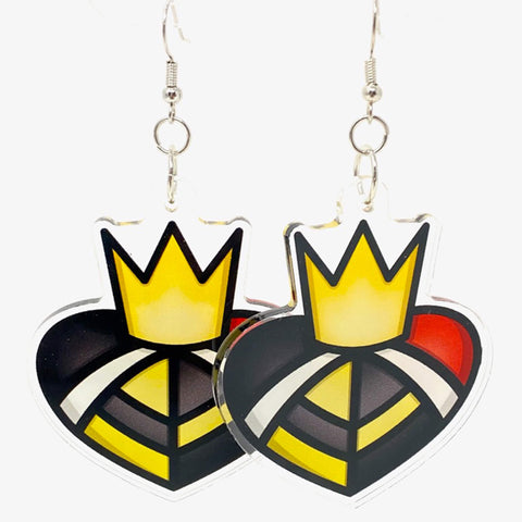 Heart to Heart Acrylic Earrings