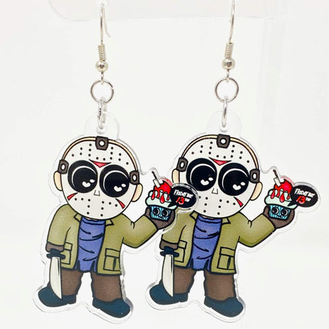 Jason Acrylic Earrings