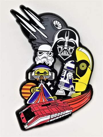 Star Tours D Enamel Pin