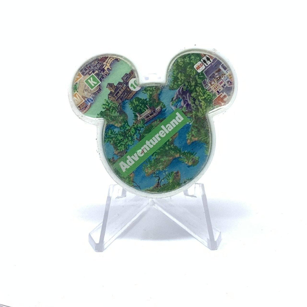 Mouse Map Acrylic Brooch - Adventureland