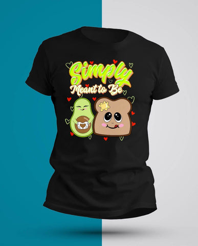 Simply Meant to Be Avocado/Toast T-Shirt