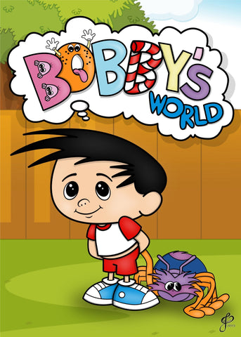 Bobby's World - 5x7 Art Print by Jo2 | Art Prints Artistic FlavorzArtistic Flavorz