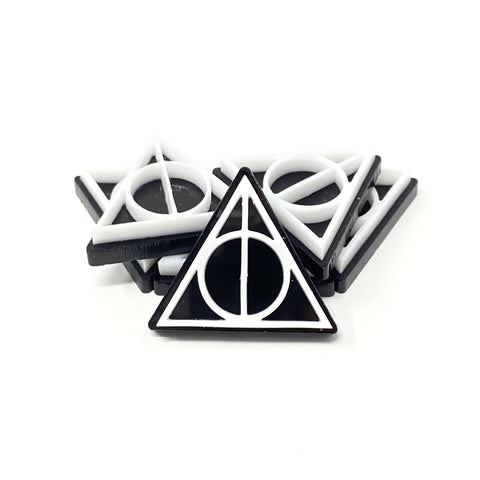 Deathly Hallows Acrylic Pin