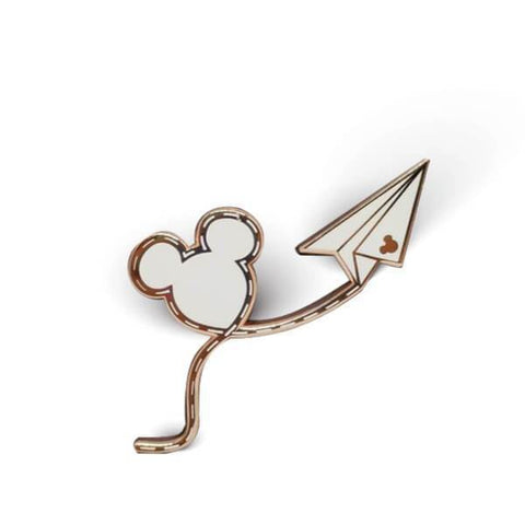 It All Started with a Mouse Enamel Pin | <small>Rose Gold/White</small>