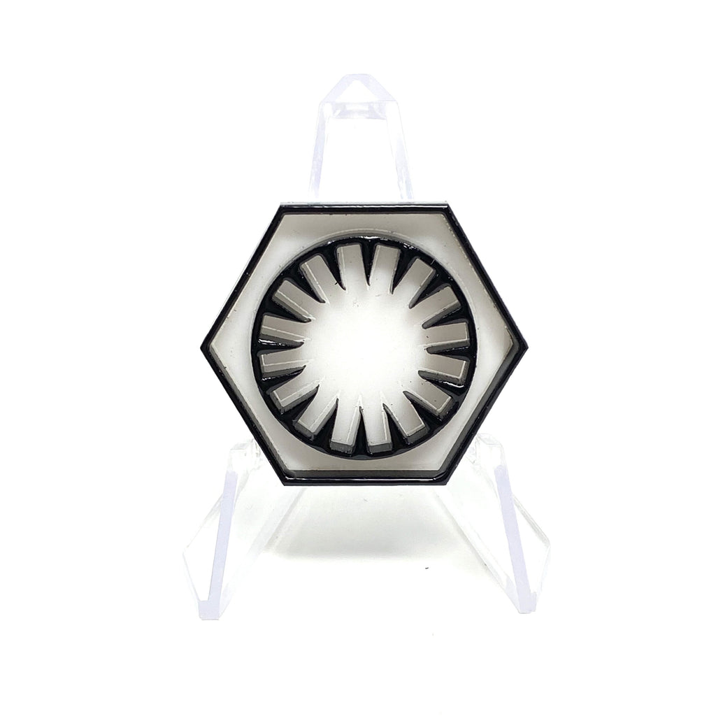The First Order Symbol Acrylic Pin