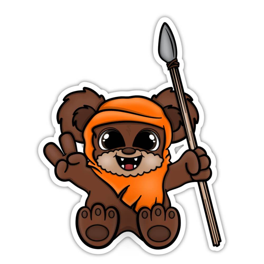 Beary Cute Sticker (#107)