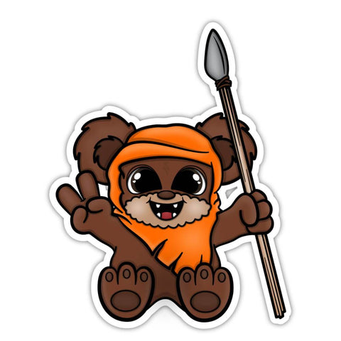 Ewok Sticker (#107)