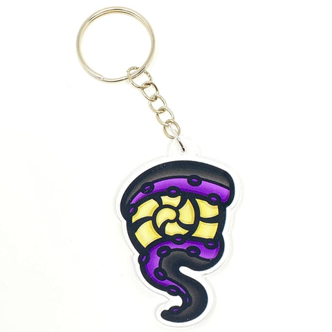 Ursula Tentacle Acrylic Keychain | Acrylic Keychains Artistic FlavorzArtistic Flavorz