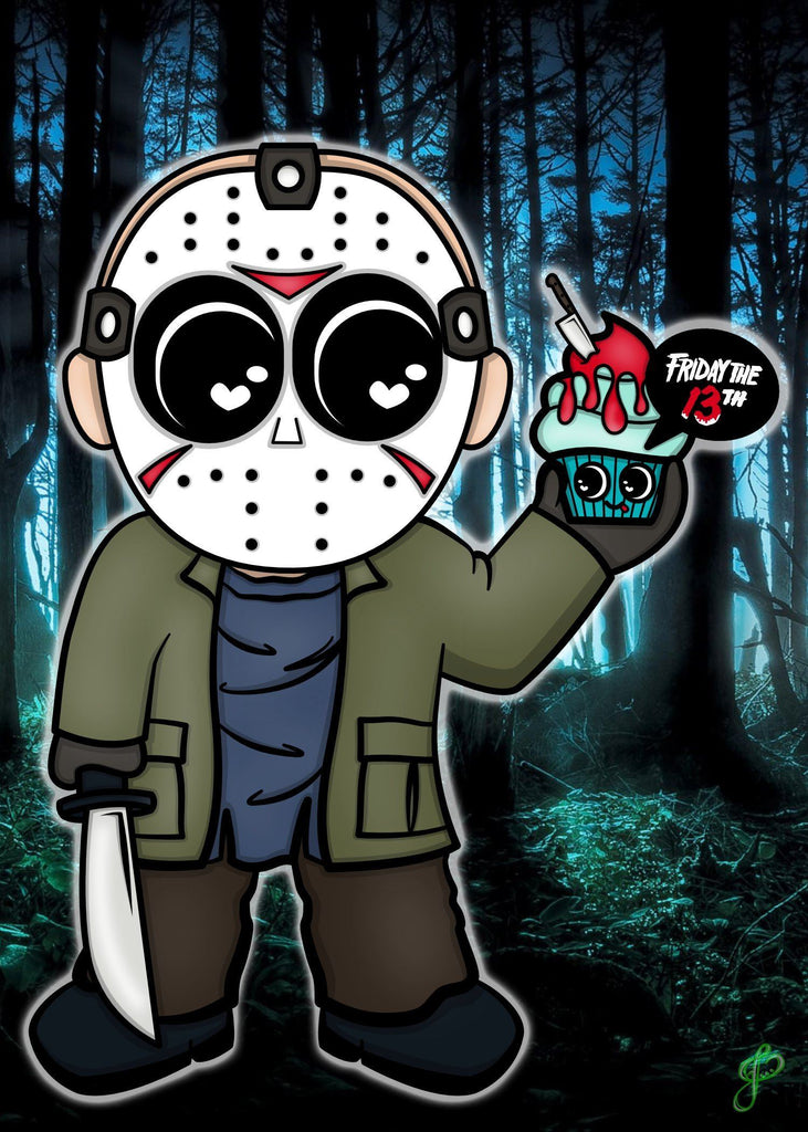 Jason - 5x7 Art Print by Jo2