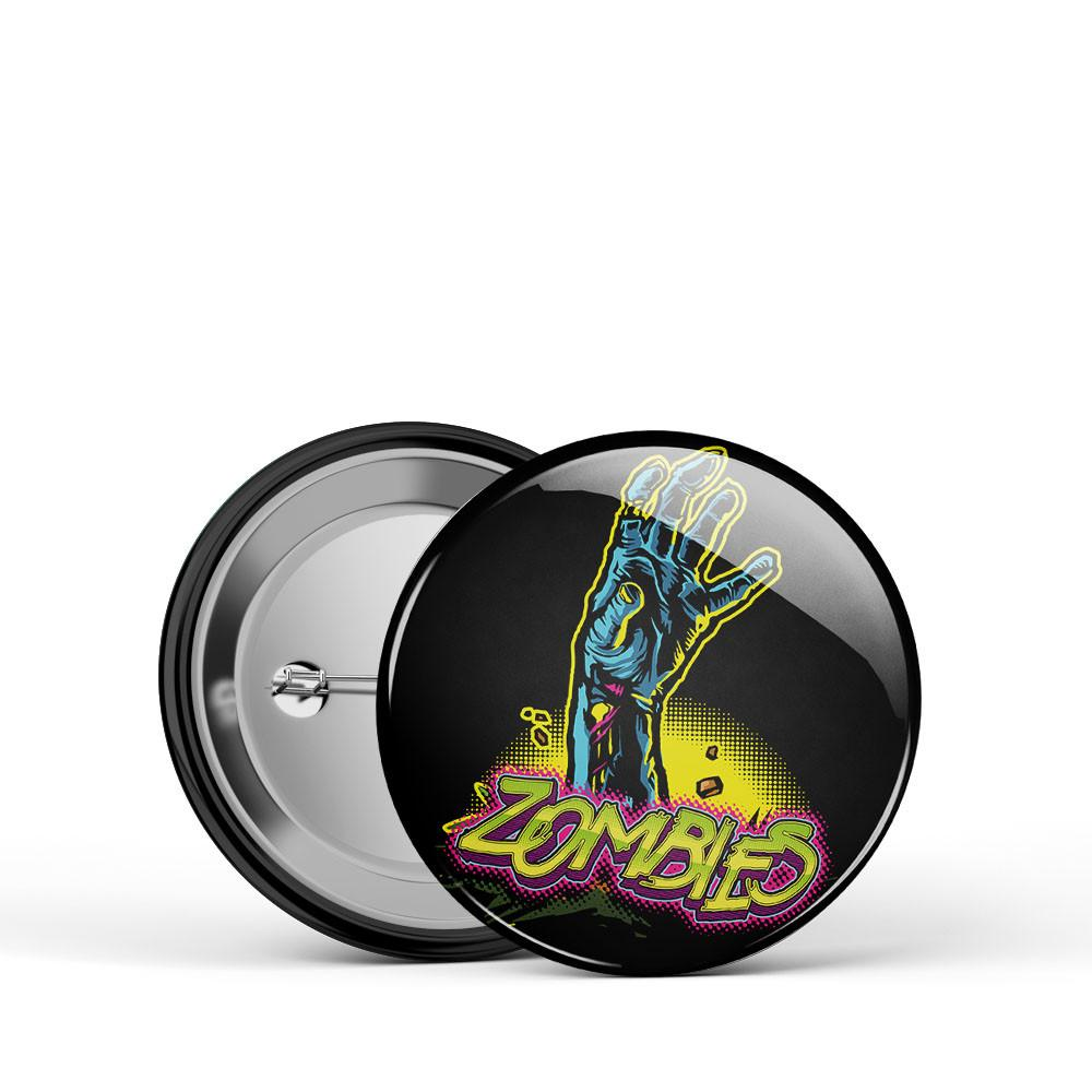 Zombie Hand Button