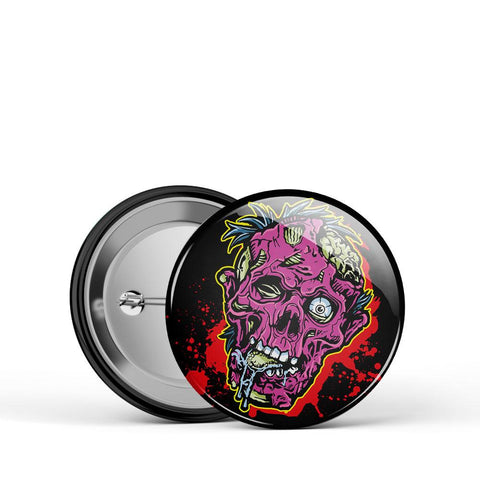 Zombie Head Button