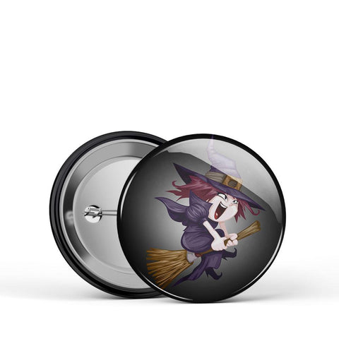 Witch Kid Button