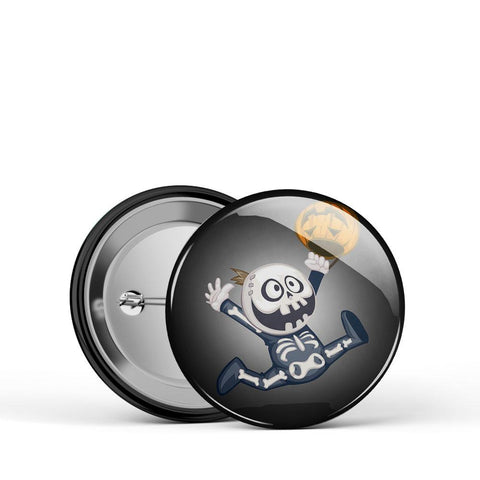 Skeleton Kid Button