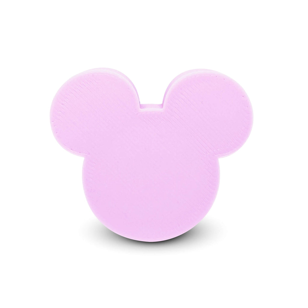 Mouse Solid Badge Reel Cover - Pink