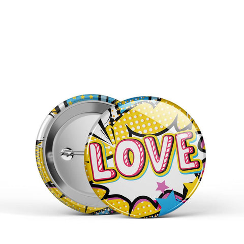 Love Pop Button