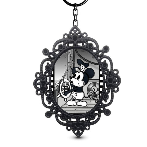 Steamboat Willie Framed Keychain