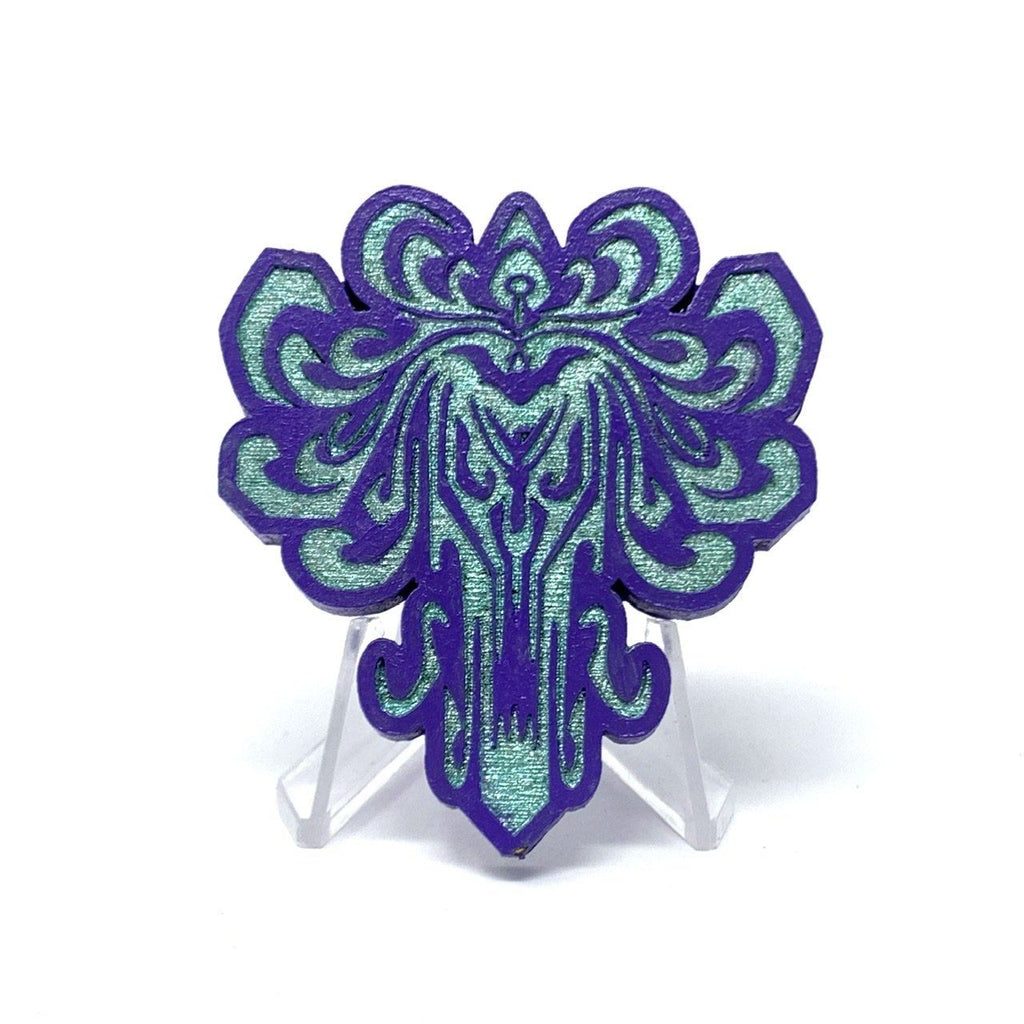 HM Wallpaper (Wood Pin) - Purple/Mint