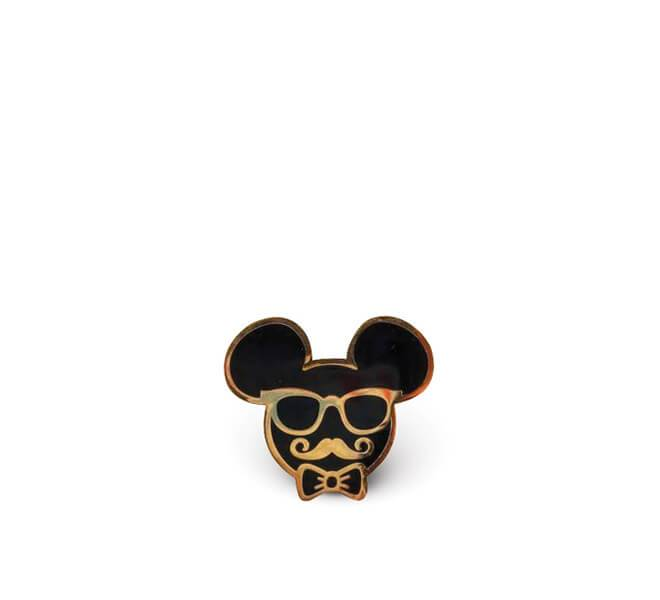 Oh So Fancy Mouse Enamel Pin