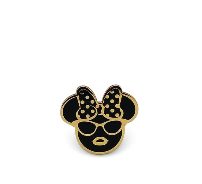Dapper Minnie Enamel Pin