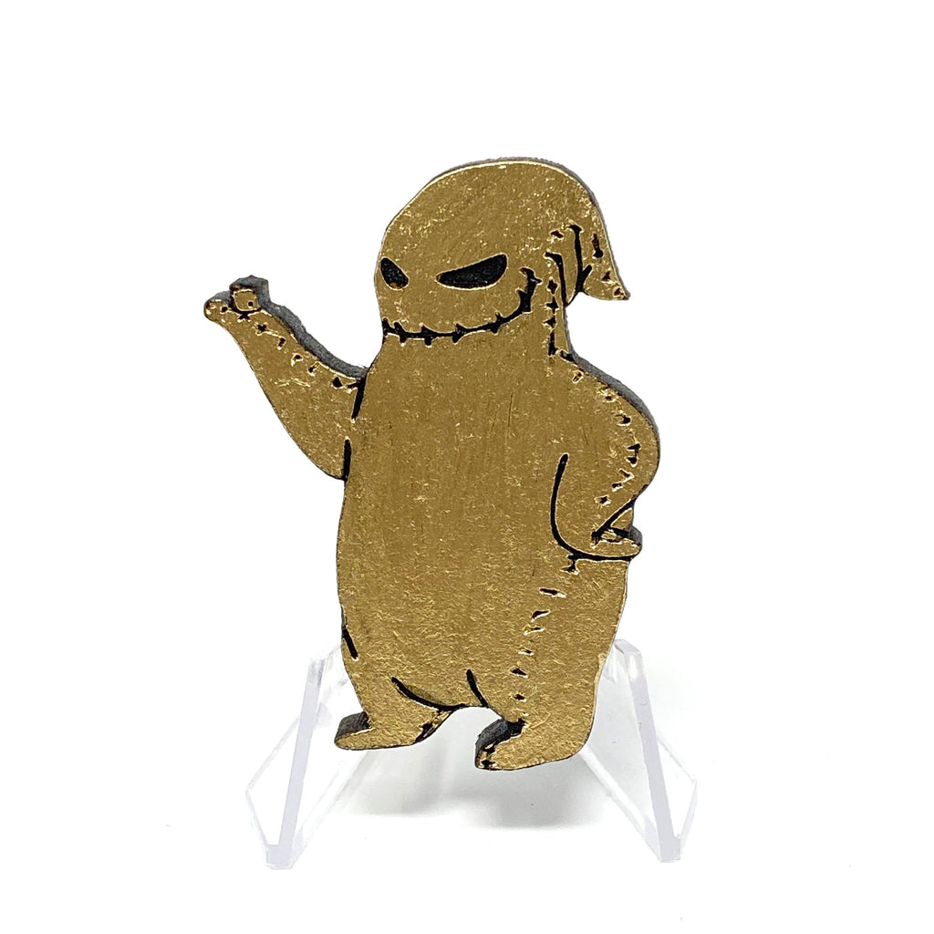 Buggin' Out (Wood Pin) - Gold
