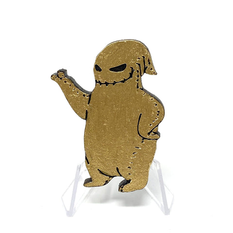 Oogie Boogie (Wood Pin) - Gold | Wood Pins Artistic FlavorzArtistic Flavorz