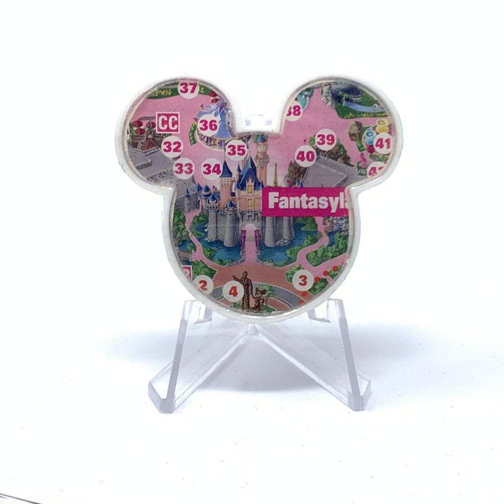 Mouse Map Acrylic Brooch - Sleeping Beauty's Castle