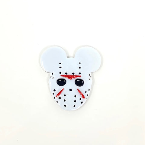 Jason Mouse Acrylic Brooch