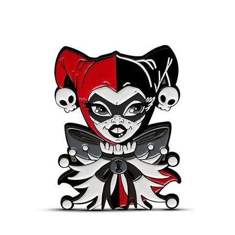 The Jester Enamel Pin - Artistic Flavorz