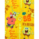 Face Mask - Spongebob and Patrick