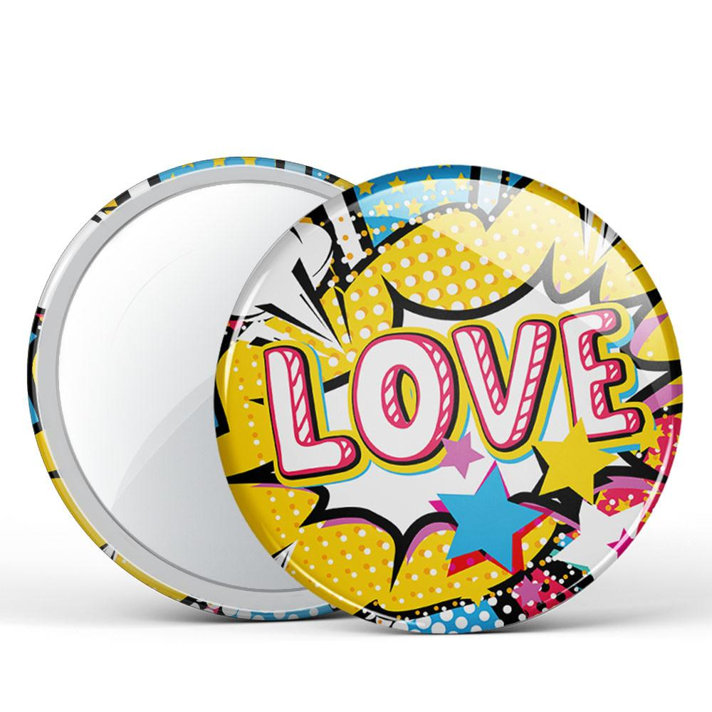 LOVE Button Mirror